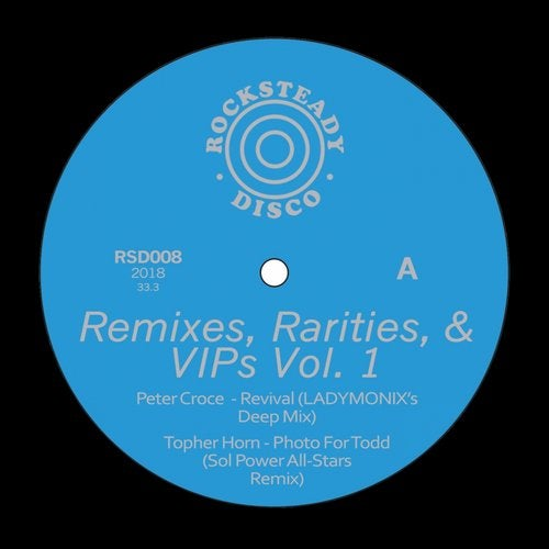 Remixes, Rarities, & VIPS, Vol. 1