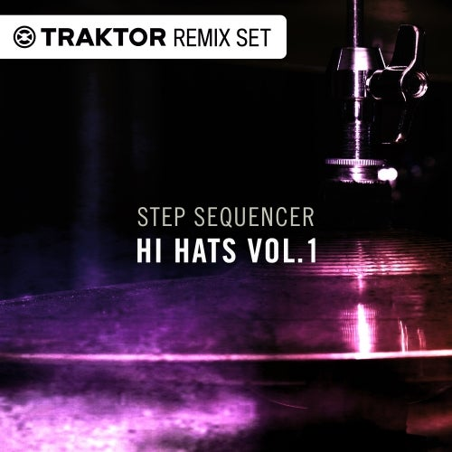 Techno & House Hi-Hats Vol. 01 - Step Sequencer Drum Sounds