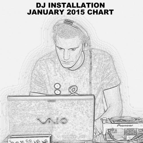 DJ INSTALLATION / JANUARY 2015 CHART: Tracks on Beatport
