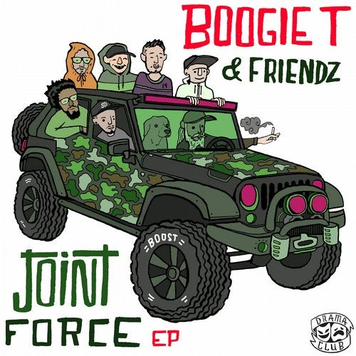 Boogie T - Joint Force EP (DC041)