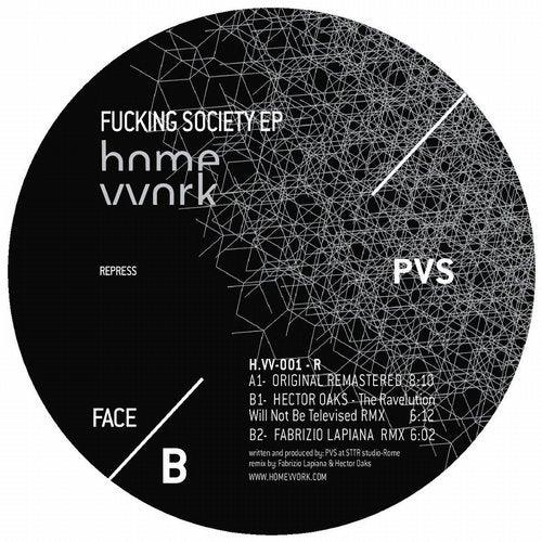 Fuckin' society (2018) - Repress