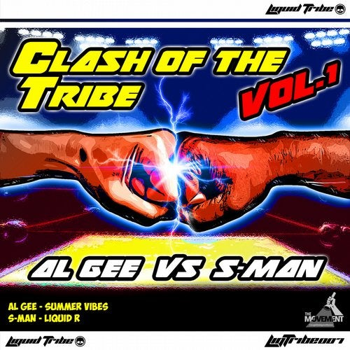 S-Man / Al Gee - Clash Of The Tribe Volume 1 (LIQTRIBE007)