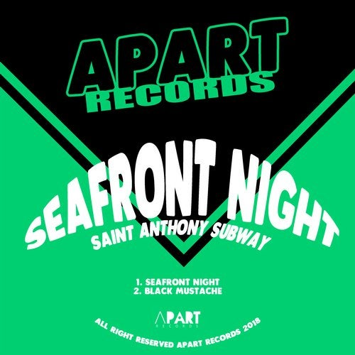 Saint Anthony Subway – Seafront Night [Apart Records]