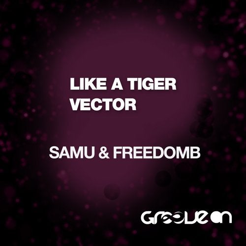 Like A Tiger And Vector
