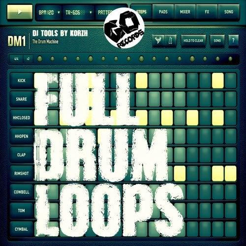 Full Drum Loops 07 (DJ Tools) by Korzh on Beatport