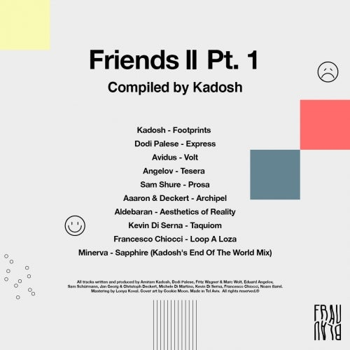 Friends II Pt. 1 - Compiled By Kadosh