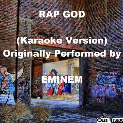 Rap God Karaoke Version Originally Performed By Eminem Original