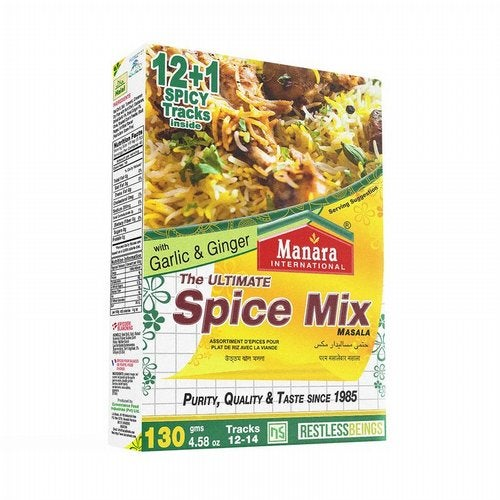 Manara International Presents: The Ultimate Spice Mix