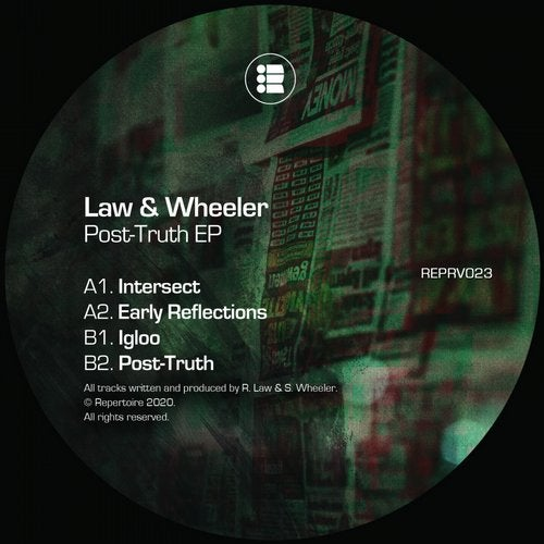 Law & Wheeler - Post-Truth EP [REPRV023]