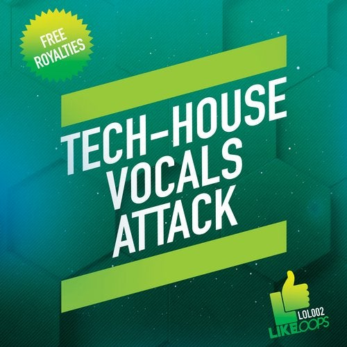 Tech-House Vocals Attack 10