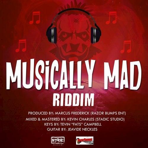 Musically Mad Riddim (Instrumental) by Razor Bumps Entertainment on