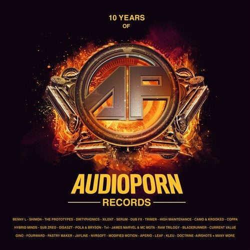 10 Years of Audioporn Records LP
