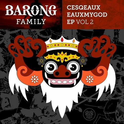 Cesqeaux - Eauxmygod EP, Vol. 2 (BF019)