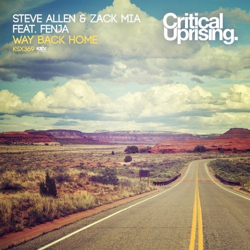 Steve Allen, Fenja, Zack Mia - Way Back Home (Original Mix) [Critical Uprising]