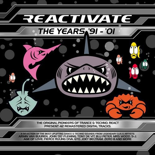 Reactivate 91-01 Feat. Rachel Auburn DJ Mixes