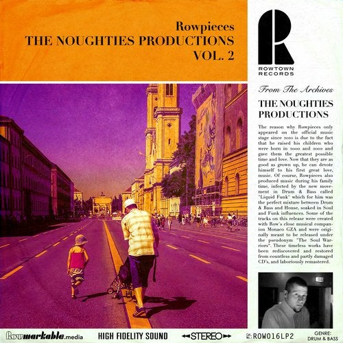 Rowpieces - The Noughties Productions Vol. 2 [ROW016LP2]