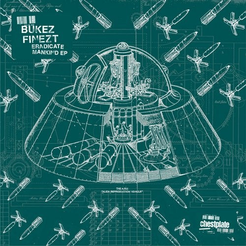 Bukez Finezt - Eradicate Mankind EP [CHST048]