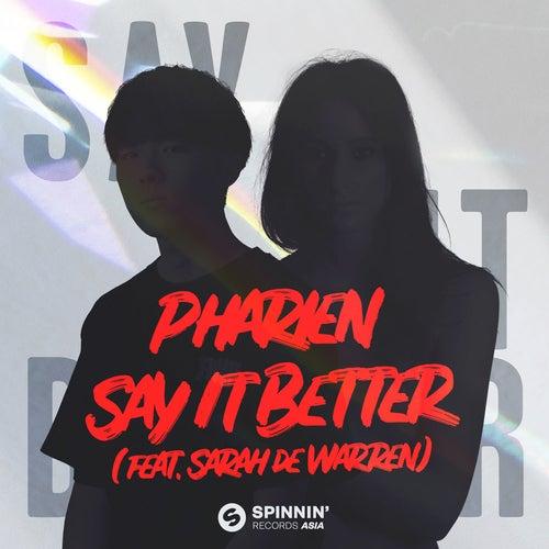 Say It Better (feat. Sarah de Warren)