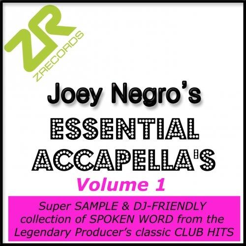 Joey Negro's Essential Acapellas - Volume 1