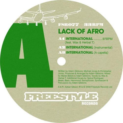 International (Instrumental Mix) by Lack Of Afro on Beatport