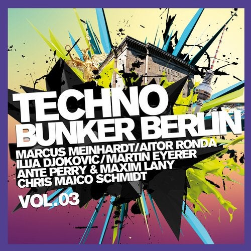 Techno Bunker Berlin, Vol.3