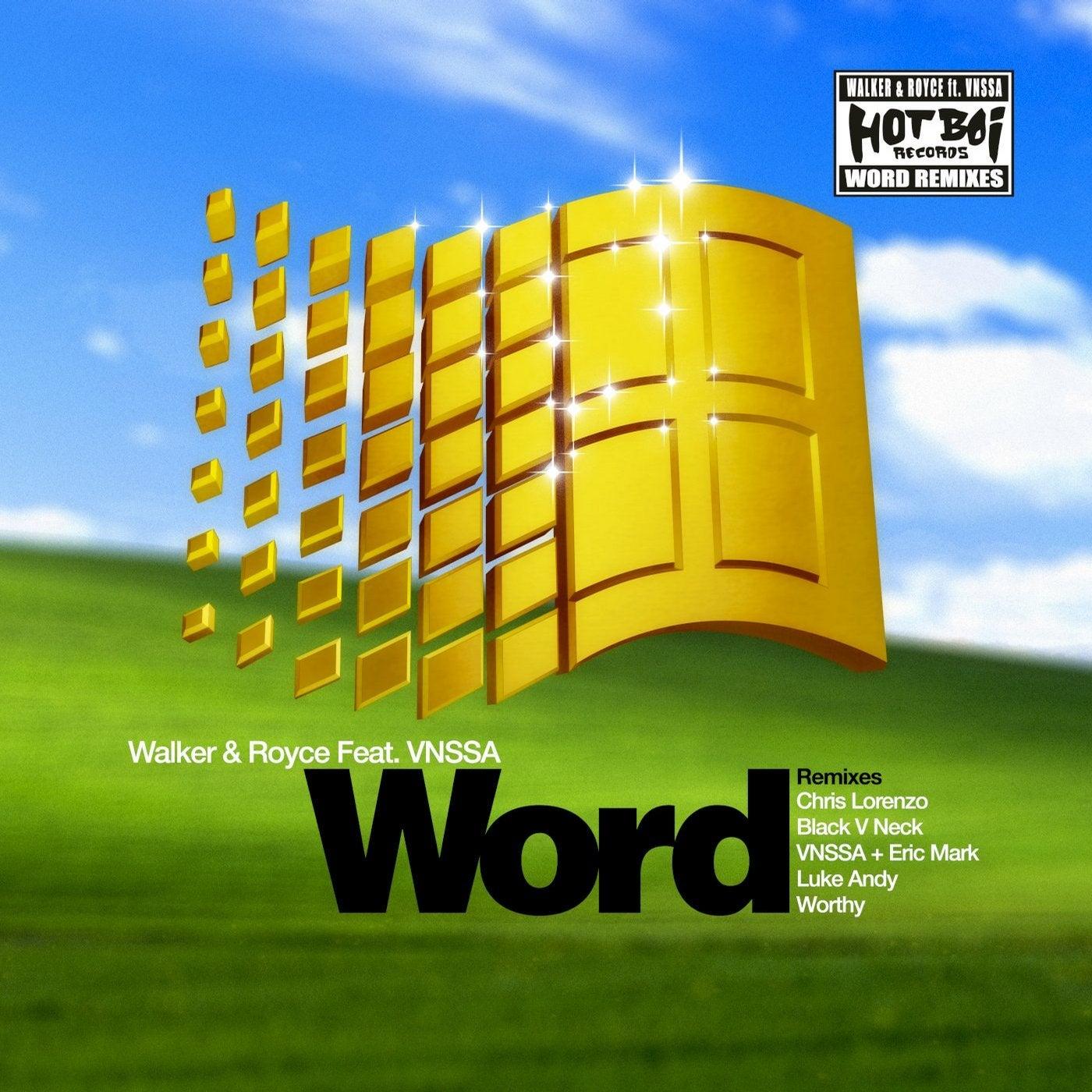 WORD (Chris Lorenzo Remix)