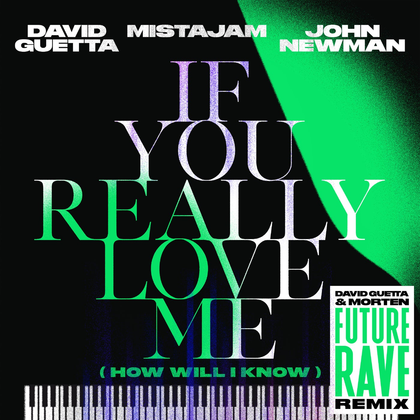 If You Really Love Me (How Will I Know) (David Guetta & MORTEN Future Rave Remix Extended)