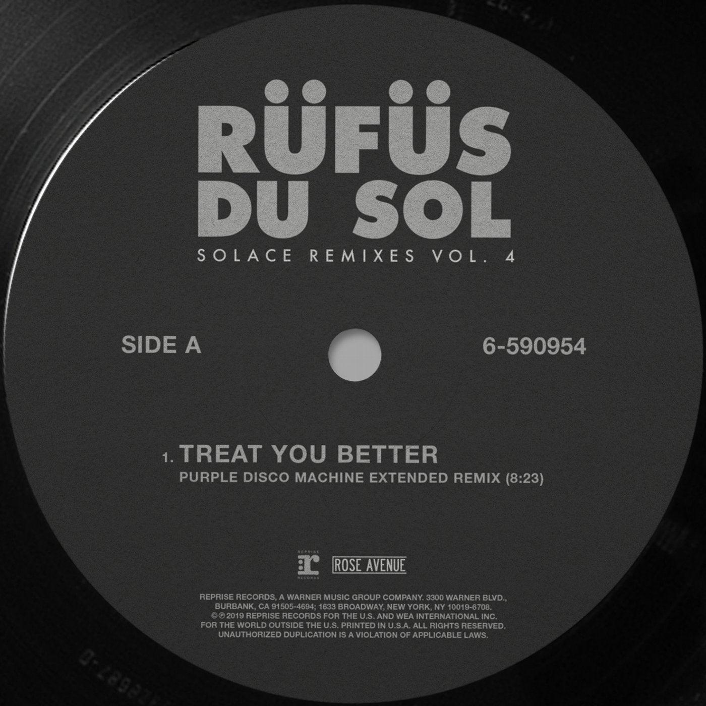 Treat You Better (Purple Disco Machine Extended Remix)