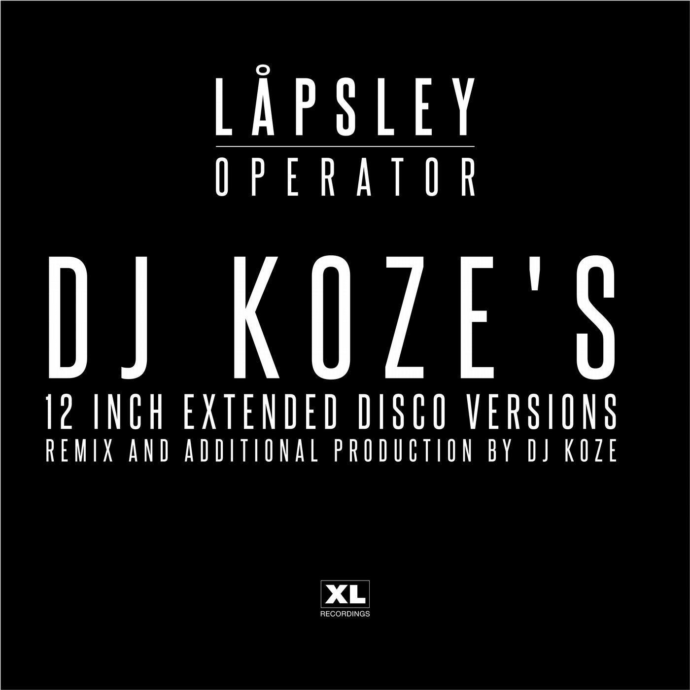 Operator (DJ Koze's 12 inch Extended Disco Version)