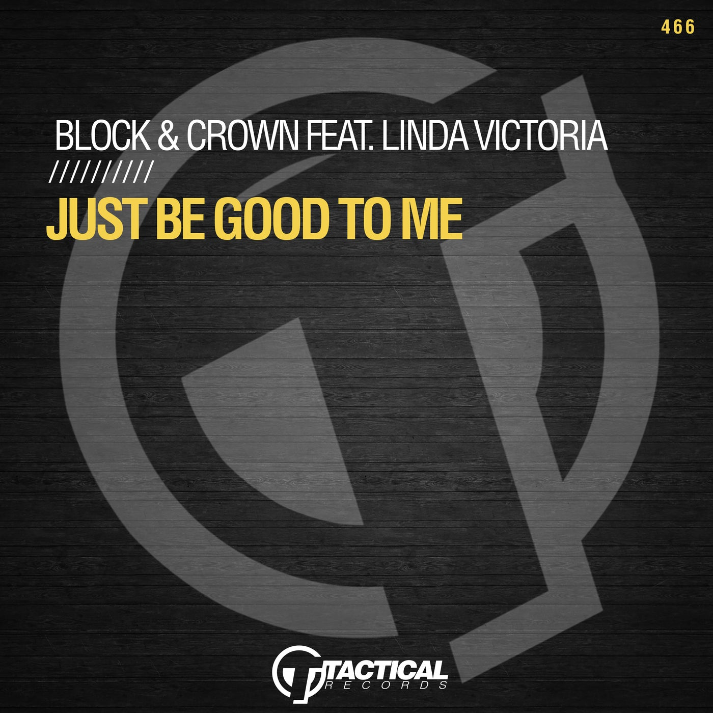 Just Be Good To Me Feat. Linda Victoria (Original Mix)