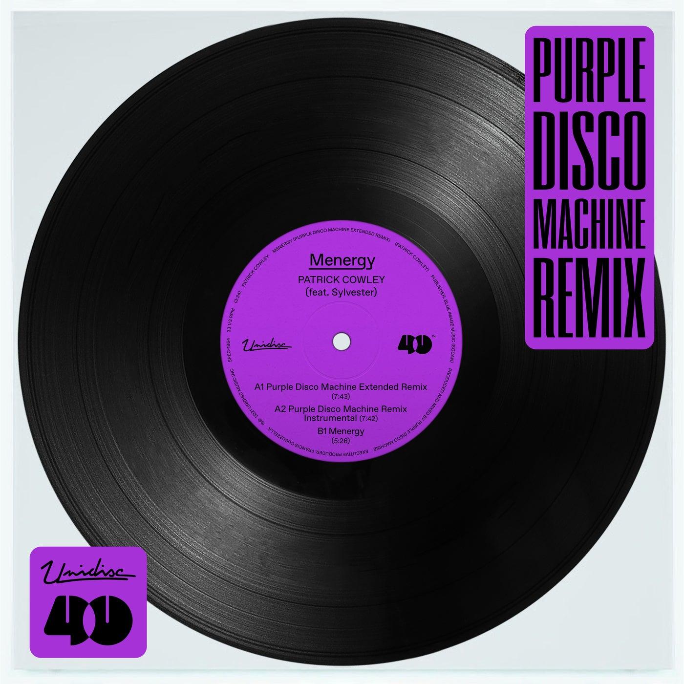 Menergy (Purple Disco Machine Extended Remix)