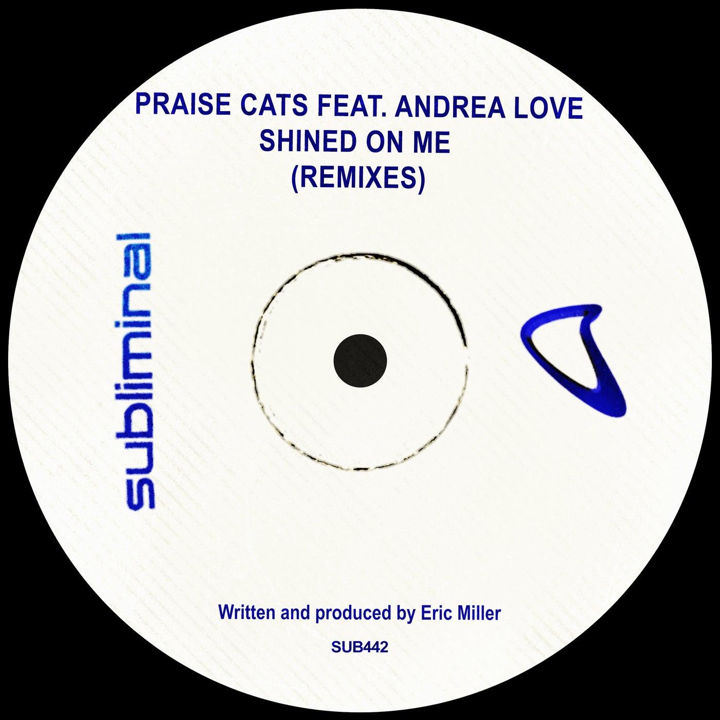 Shined On Me feat. Andrea Love (Peace - Love Acapella)