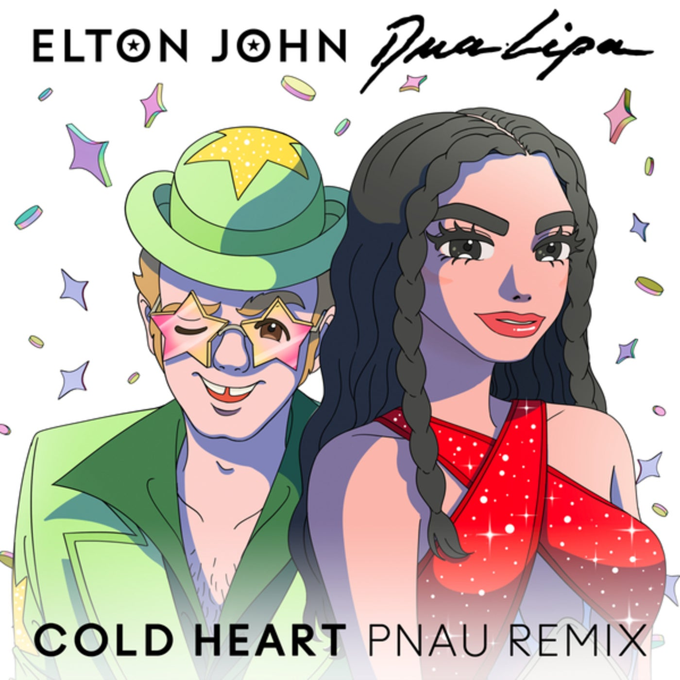 Cold Heart (PNAU Extended Mix)