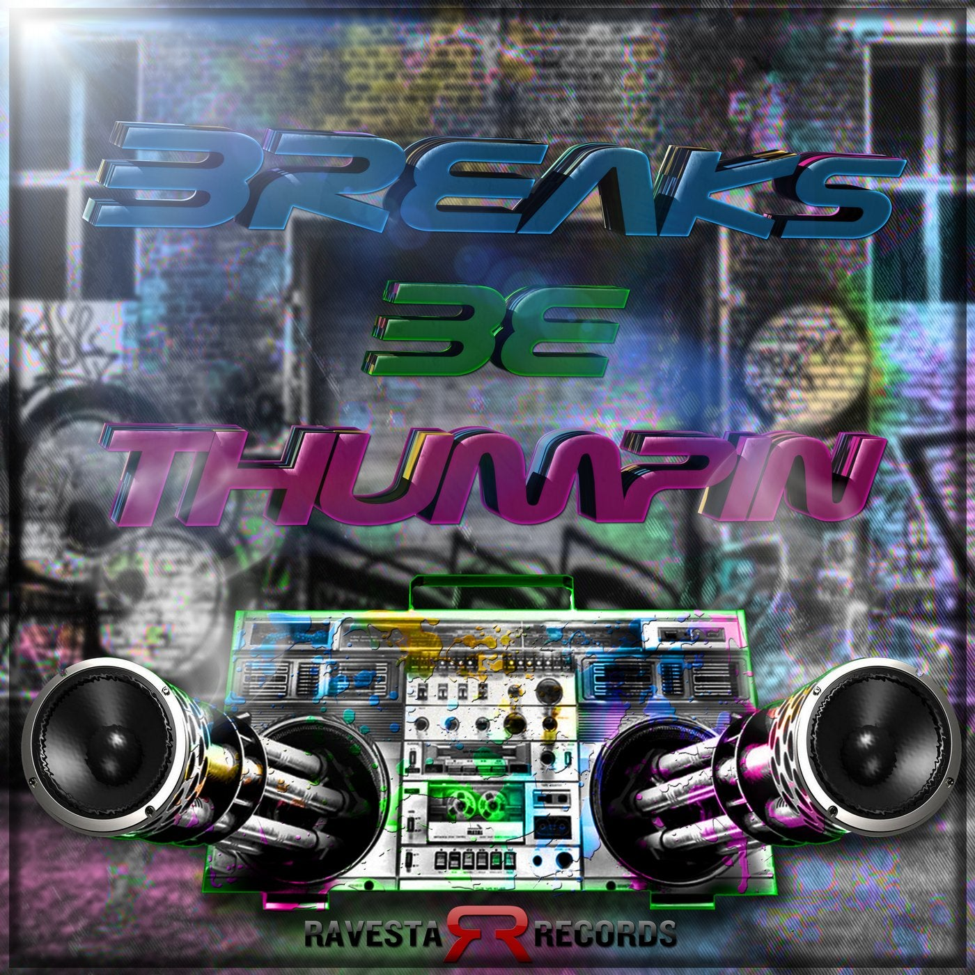 Download VA - BREAKS BE THUMPIN (RAV185) mp3