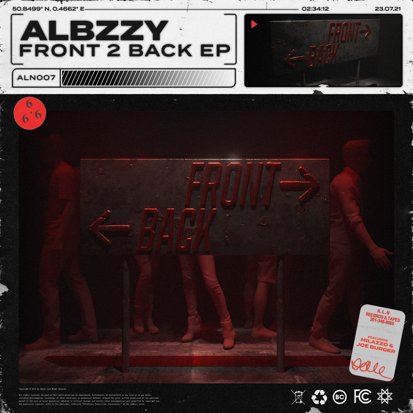 Front 2 Back feat. Milazzo (Original Mix)