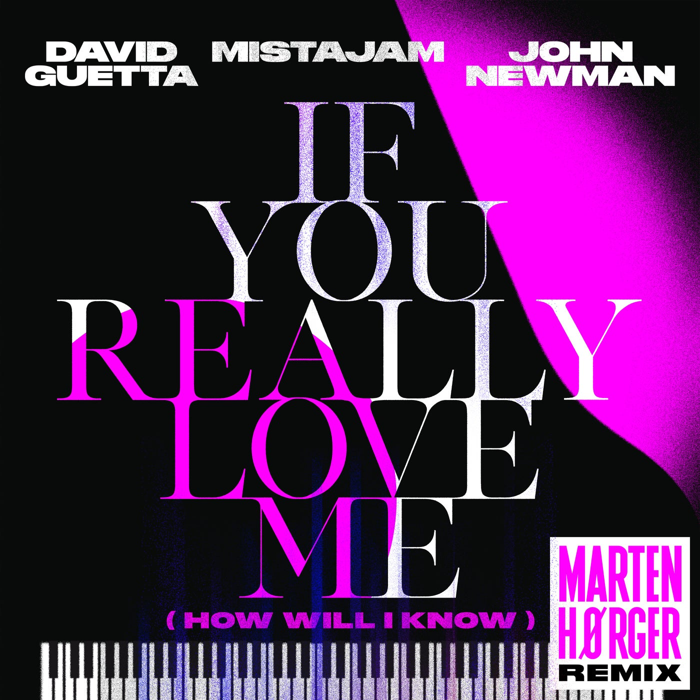 If You Really Love Me (How Will I Know) (Marten Hørger Remix Extended)
