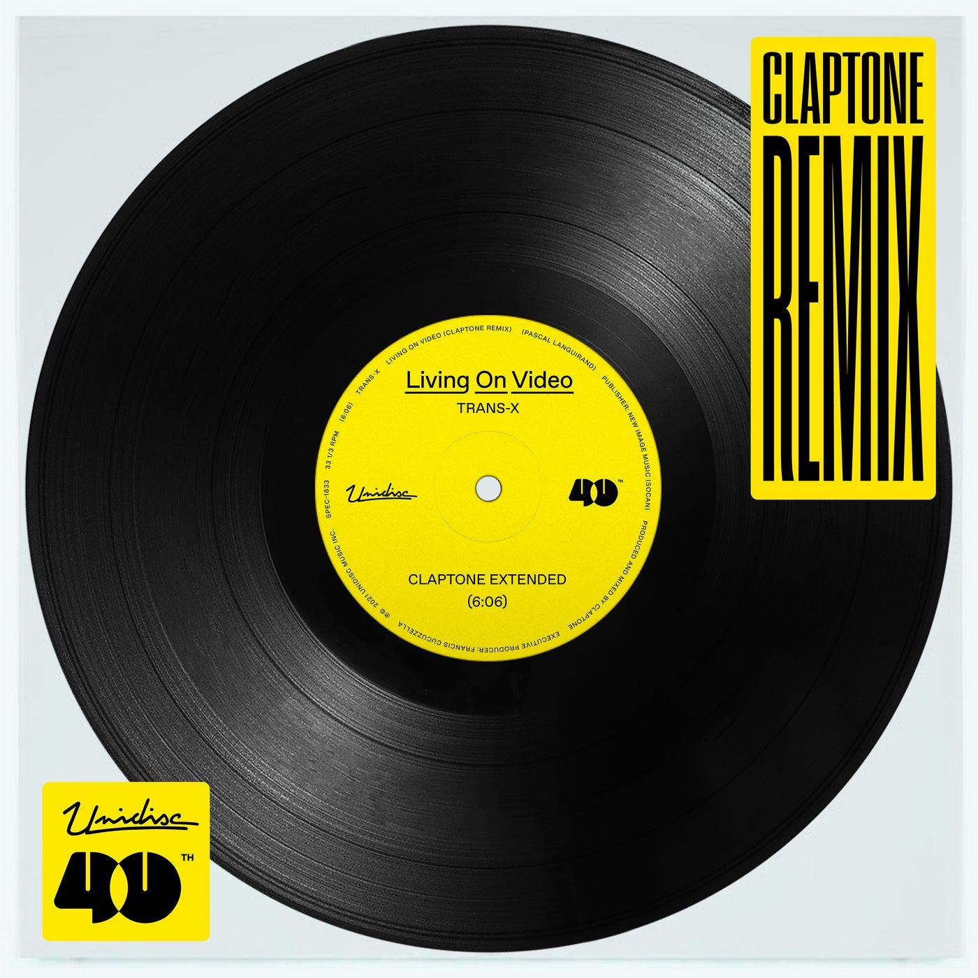 Living On Video (Claptone Extended Remix)