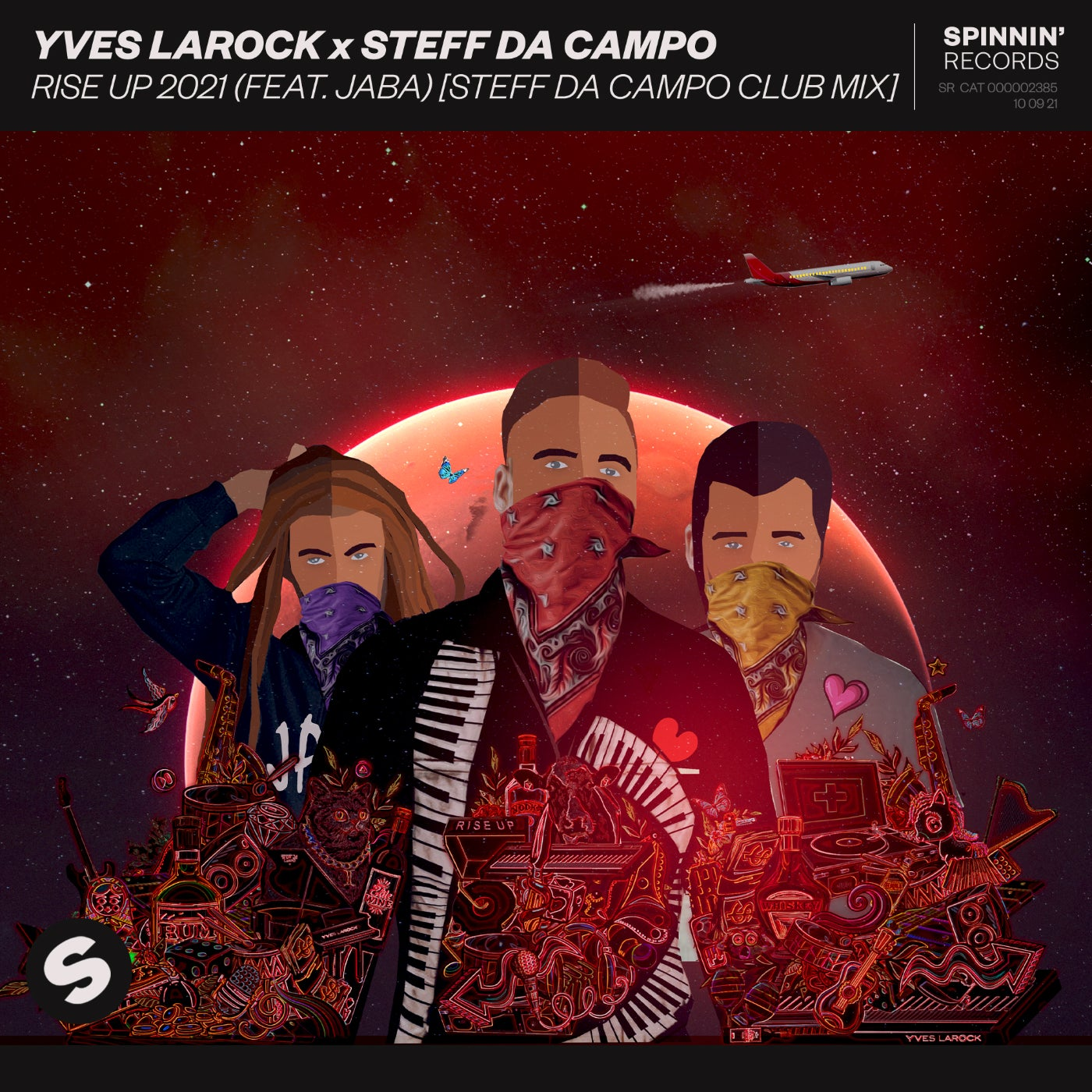 Rise Up 2021 (feat. Jaba) (Steff da Campo Extended Club Mix)