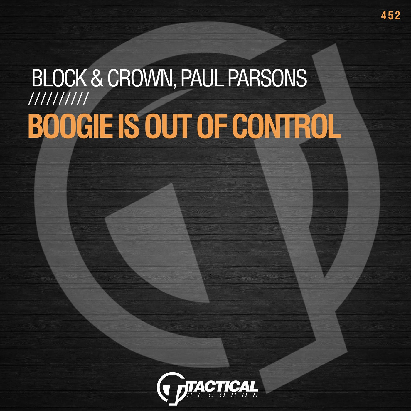 Boogie Is Out Of Control (Original Mix)