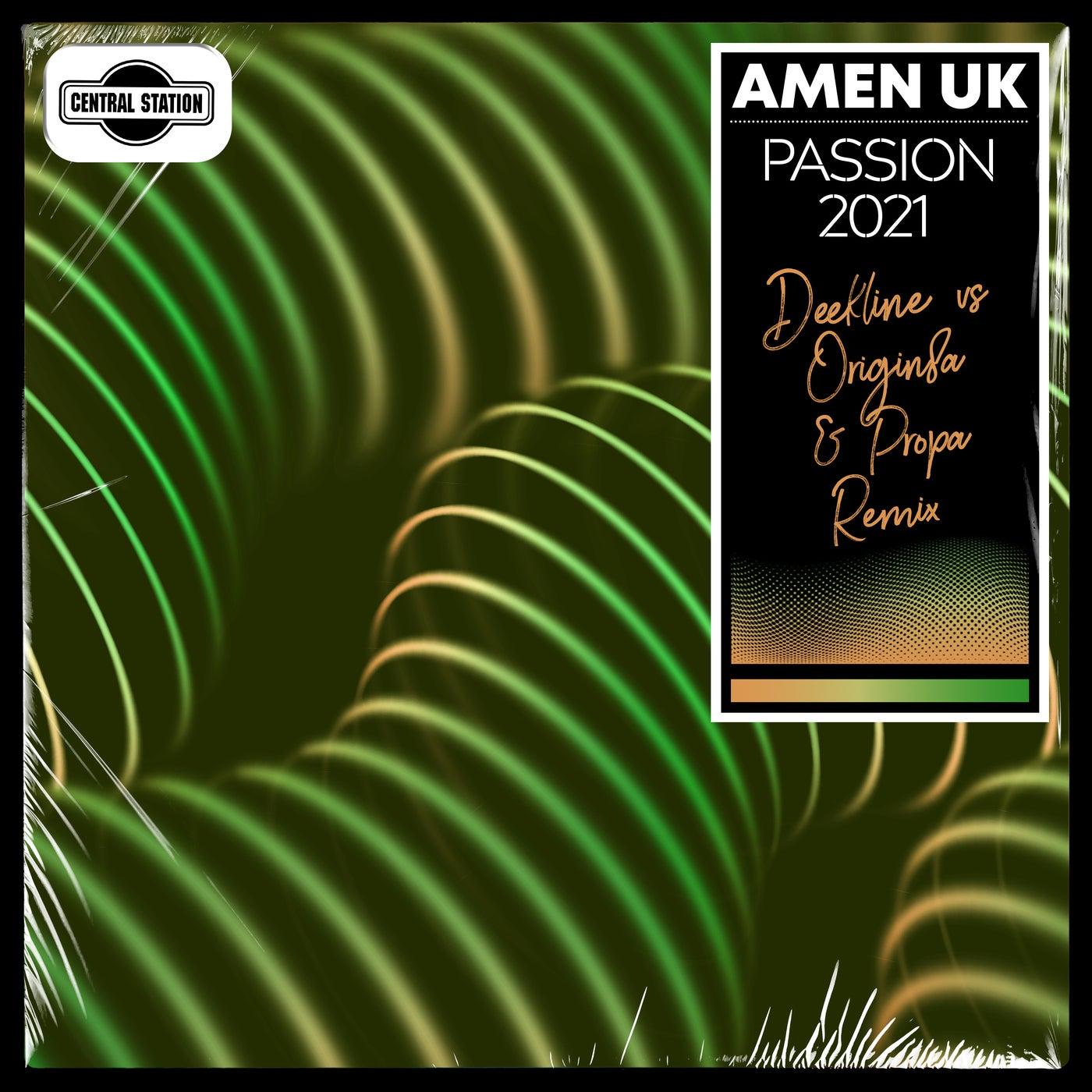 Passion 2021 (Deekline vs. Origin8a & Propa Extended Remix)