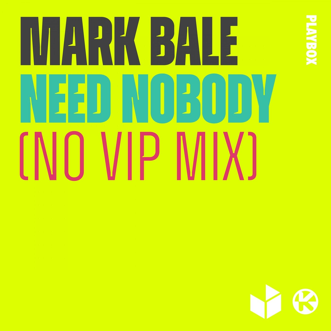 Need Nobody (No VIP Extended Mix)