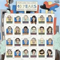 VA – Popcorn records 10 Years Birthday Compilation – (Popcorn Records)