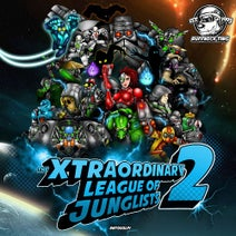Jinx, Aries, Verdikt, Nino, Bass Antics, DJ Hybrid, Kenji, K Jah, Vytol, The Force, Blackout Ja, Kalum, Genetix, Lion uk, Flat T, Substance, Habitat, Dazee, Erbman - The Xtraordinary League Of Junglists 2 (Level 1)