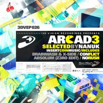 Brainwash, X-side, Absolum, Z3ro - Arcad3, Selected by Nanuk