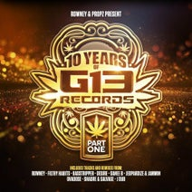 Rowney, MC Toddlah, Cabbie, J Dub, Diligent Fingers, Desire, Ovadose, MC Bellyman, Alexis, SALVAGE, Shardre, Jammin, Jeopardize, Filthy Habits, Basstripper, Danee B, Filthy Habits - 10 Years of G13 Records - Part 1