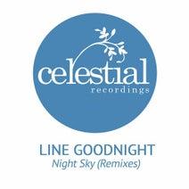 Line Goodnight, Steve Kelley, MKEY (UK) - Night Sky (Remixes)