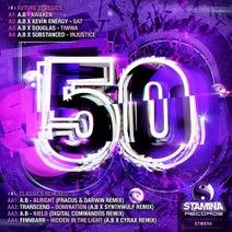 A.B, Kevin Energy, Douglas, Substanced, Transcend, Finnbarr, Fracus & Darwin, SynthWulf, A.B, Digital Commandos, Cyrax - Stamina Records: 50