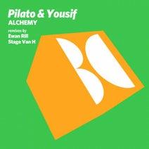 Pilato & Yousif, Ewan Rill, Stage Van H - Alchemy
