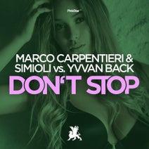 Simioli, Marco Carpentieri, Yvvan Back - Don't Stop