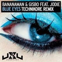 Technikore, Gisbo, Jodie, Bananaman - Blue Eyes (Technikore Remix)
